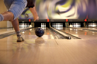 Alberta, Virginia play bowling strike