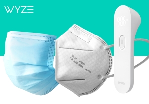 Wyze Masks and Thermometer